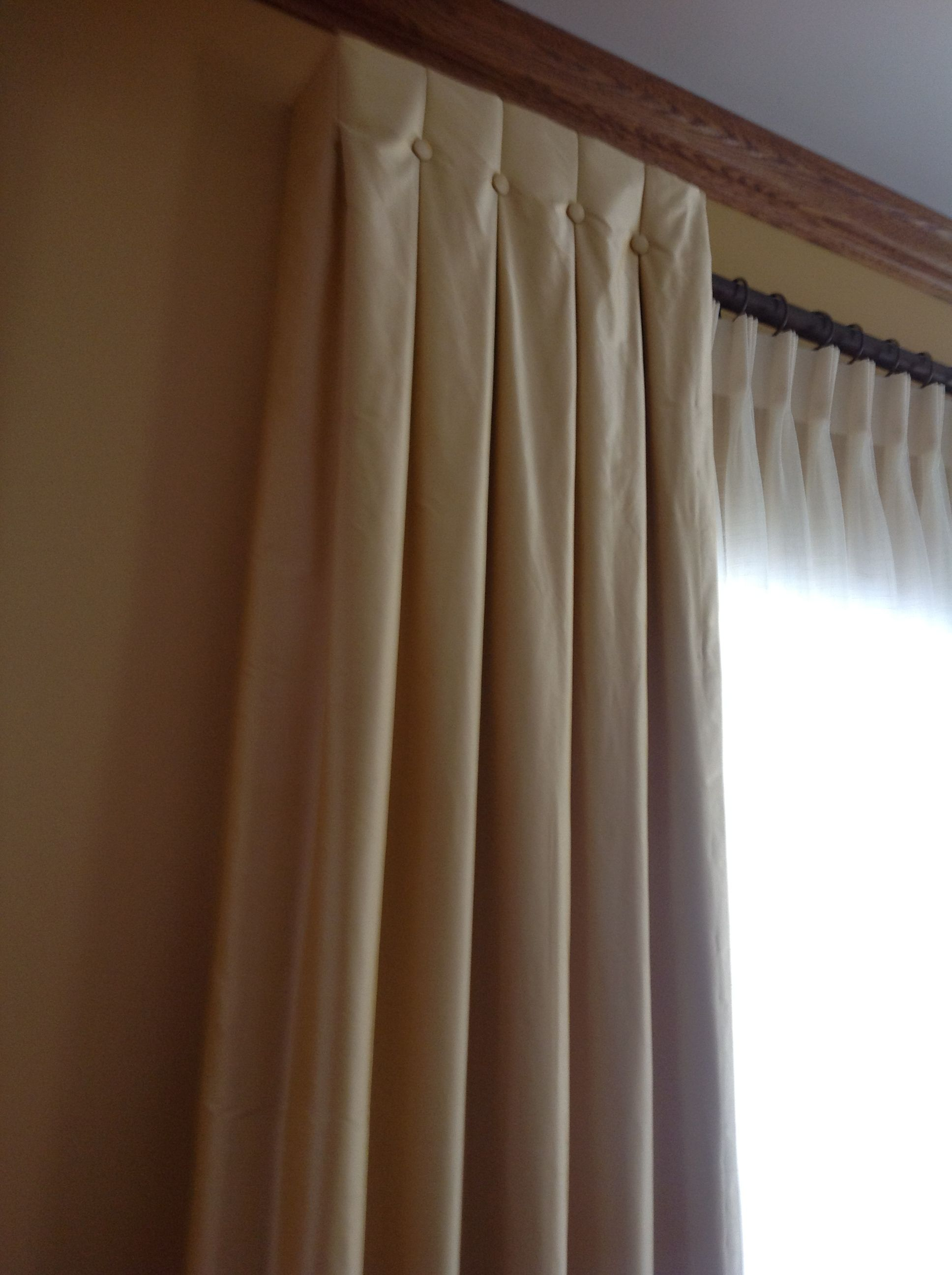 Sizing Curtains Modern Geometric Faux Roman Shade Lined