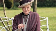 Dame Maggie Smith plays the Dowager Countess.