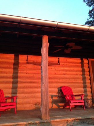 CrossWise at the cabin