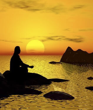 meditationsunset