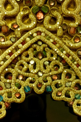 Detail, 18th C Headdress, Galich, Kostroma Province, The Russian Museum, St Petersburg