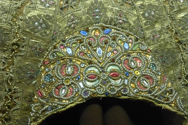 Detail, Head Dress, Stieglitz Museum, St Petersburg