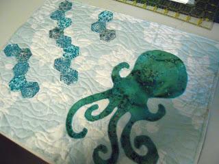 octopus quilting practice