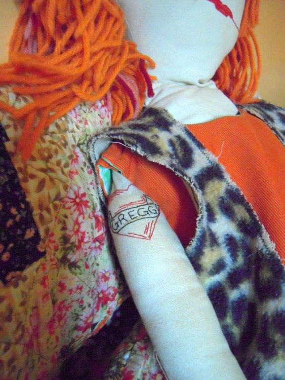 punk doll tattoo