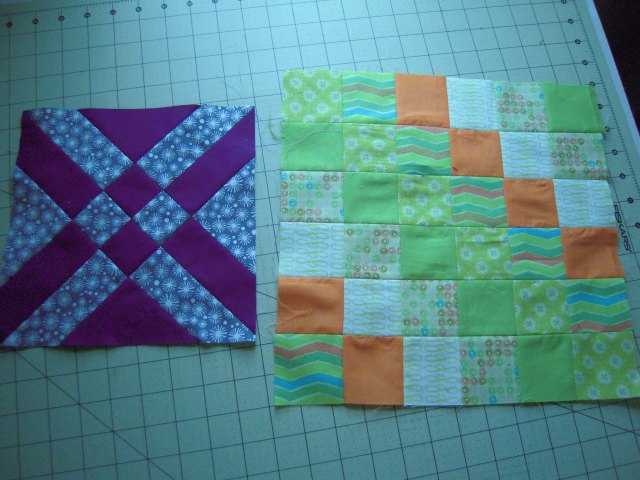 random quilt blocks