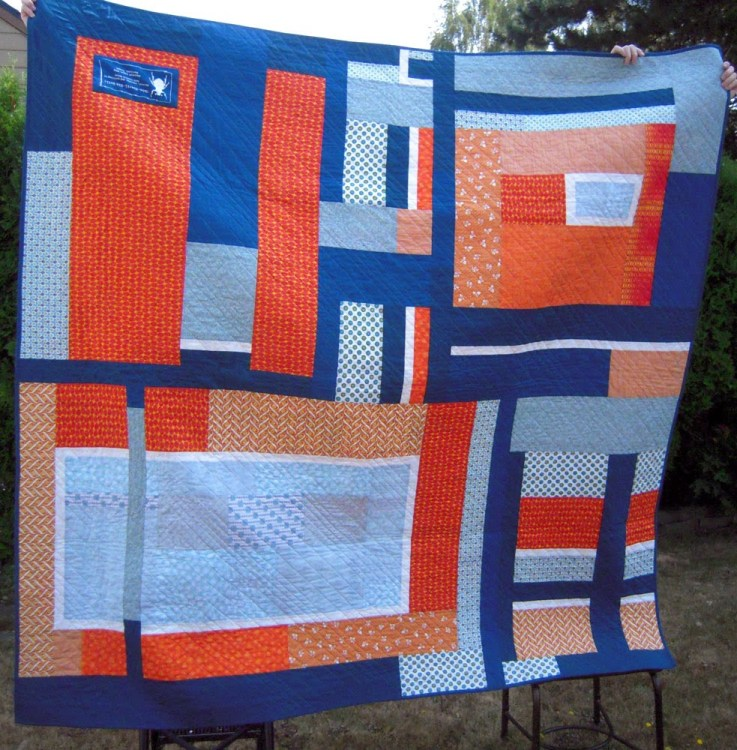 Unbe-weevil-ble quilt back finish