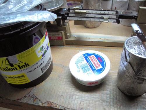 mixing inks