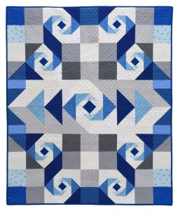 Oceans Of Blue Quilt