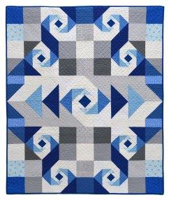 Oceans Of Blue Quilt