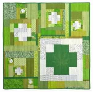 Green Cross Quilt #3