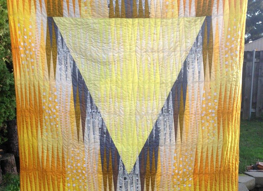 Manipura Quilt Front
