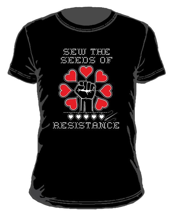 sew the seeds of resistance design