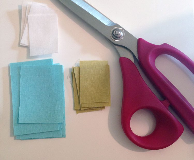 sewing small pieces