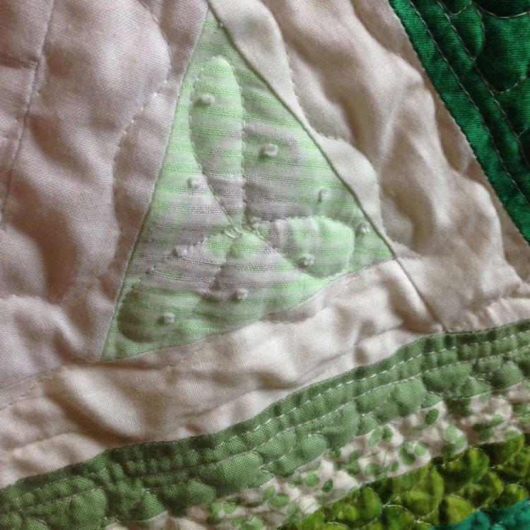 heart chakra quilting