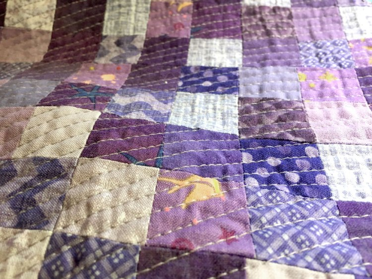 Up close more quilting