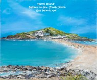 'Burgh Island' Bigbury on Sea - Mounted Prints £30 p&p inc Framed Prints Available on Collection only from £30