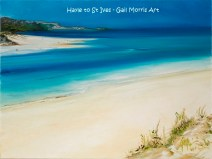 'Hayle towards St Ives' - Mounted Prints £30 P&P inc - Framed Prints £30 collection only