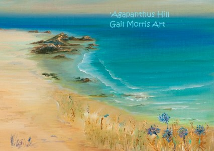 Agapanthus Hill - Prints from £35