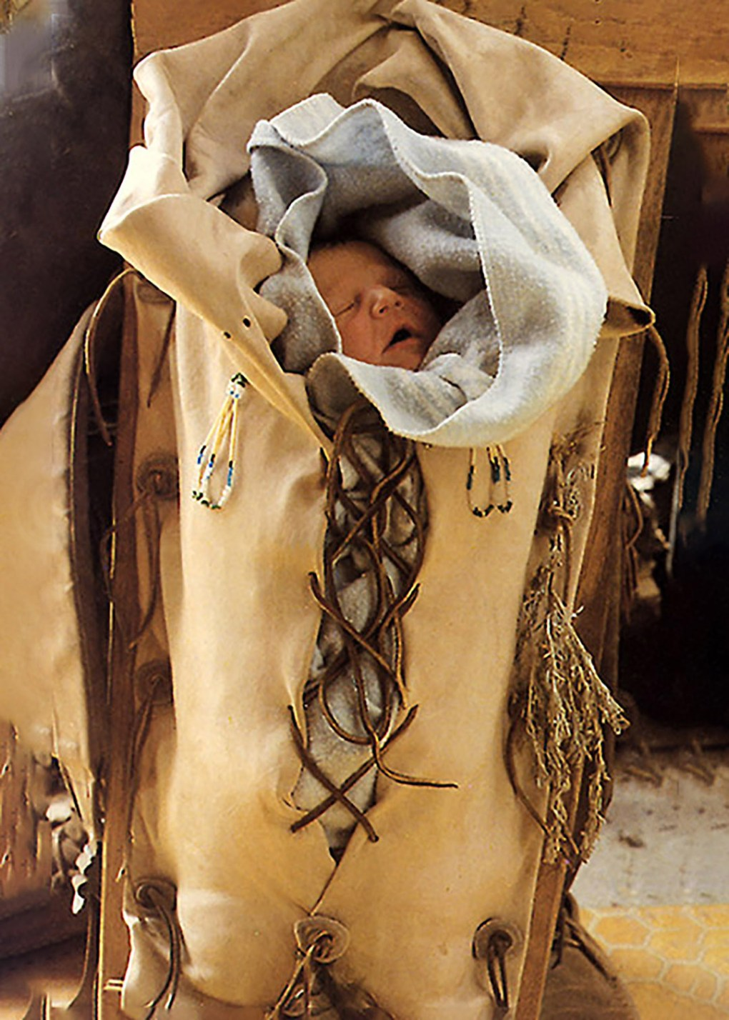 New Life at Taos Pueblo - photograph by Gail Russell