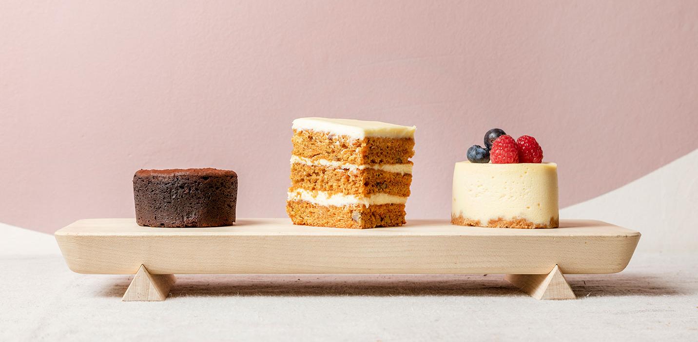 New Mini Cakes Gails Bakery