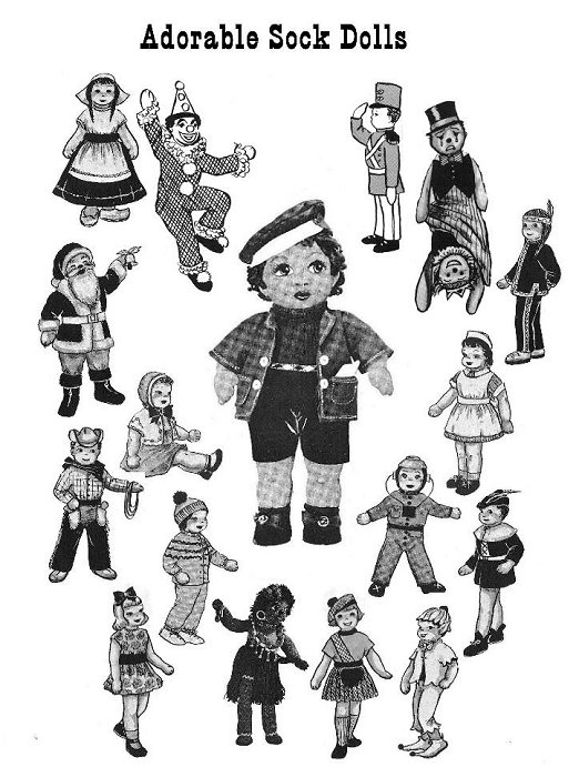 Patterns_SockDolls