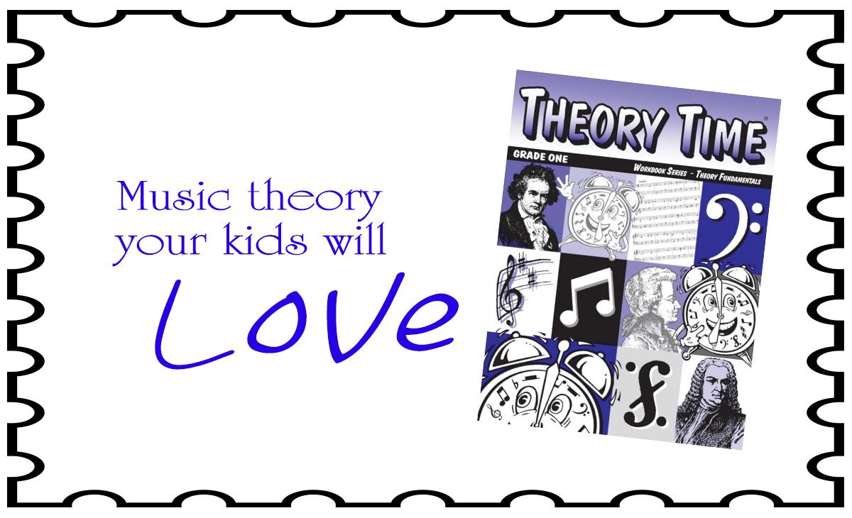 Theory Time Workbook Series