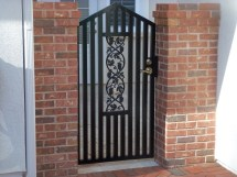 Garden Courtyard & Wine Cellar Gates - Metal Fabrication