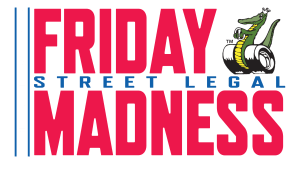Friday Street Legal Madness Logo