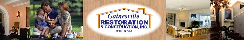 Contact Gainesville Restoration
