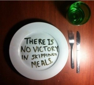 skipping meals