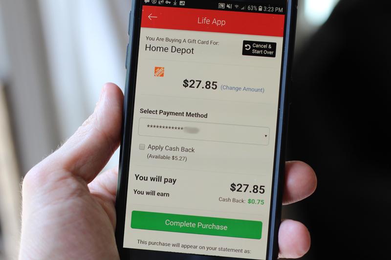 Life Leadership Shopping App - earning cash back on your