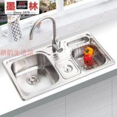 Simplehuman Kitchen Trash Can Cabinet Suppliers 美国厨房垃圾桶 美国厨房垃圾桶品牌 图片 价格 Q友网 美国墨林水槽w 666高级多功能豪华水槽带 Span Class