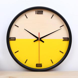 kitchen clocks hardware cabinets 秒针米果网 厨房钟表字方形新款怀旧大厅工具大堂简约长海洋机芯秒针电子