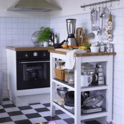 Oak Kitchen Cart Design House Faucets 宜家斯坦托厨房推车 宜家斯坦托厨房推车品牌 图片 价格 Q友网 Span Class H 宜家 正品斯坦托厨房