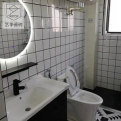 Beveled Subway Tile Kitchen Cabinet With Wheels 宜家厨房瓷砖 宜家厨房瓷砖品牌 图片 价格 Q友网 北欧宜家地铁砖面包砖釉面小白砖 Span Class H