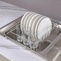 Kitchen Sink Rack Small Table Plans 304不锈钢晾碗架厨房水槽置物架沥水架碗碟架凉放沥碗架沥水篮 惠淘党 304不锈钢晾碗架厨房水槽置物架沥水架碗碟架凉放
