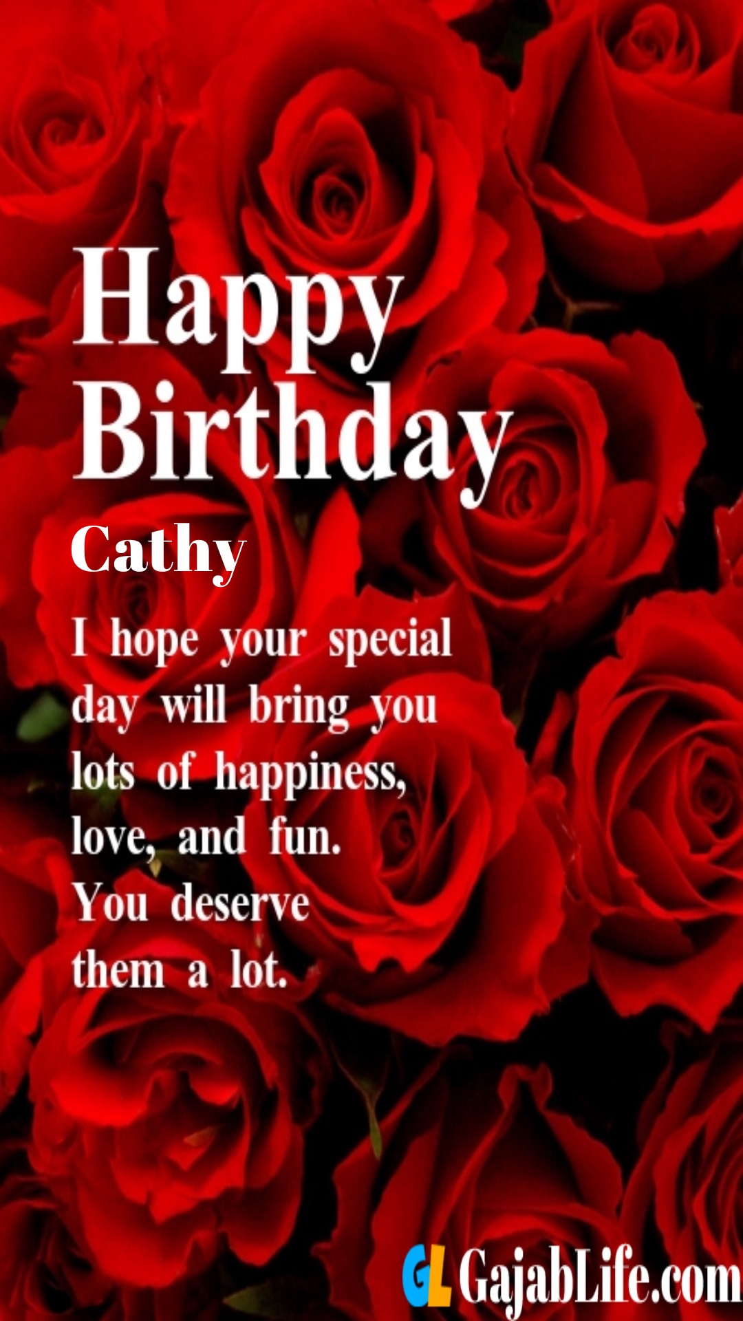 Happy Birthday Cathy : happy, birthday, cathy, Happy, Birthday, Greeting, Cathy, Quotes, Images