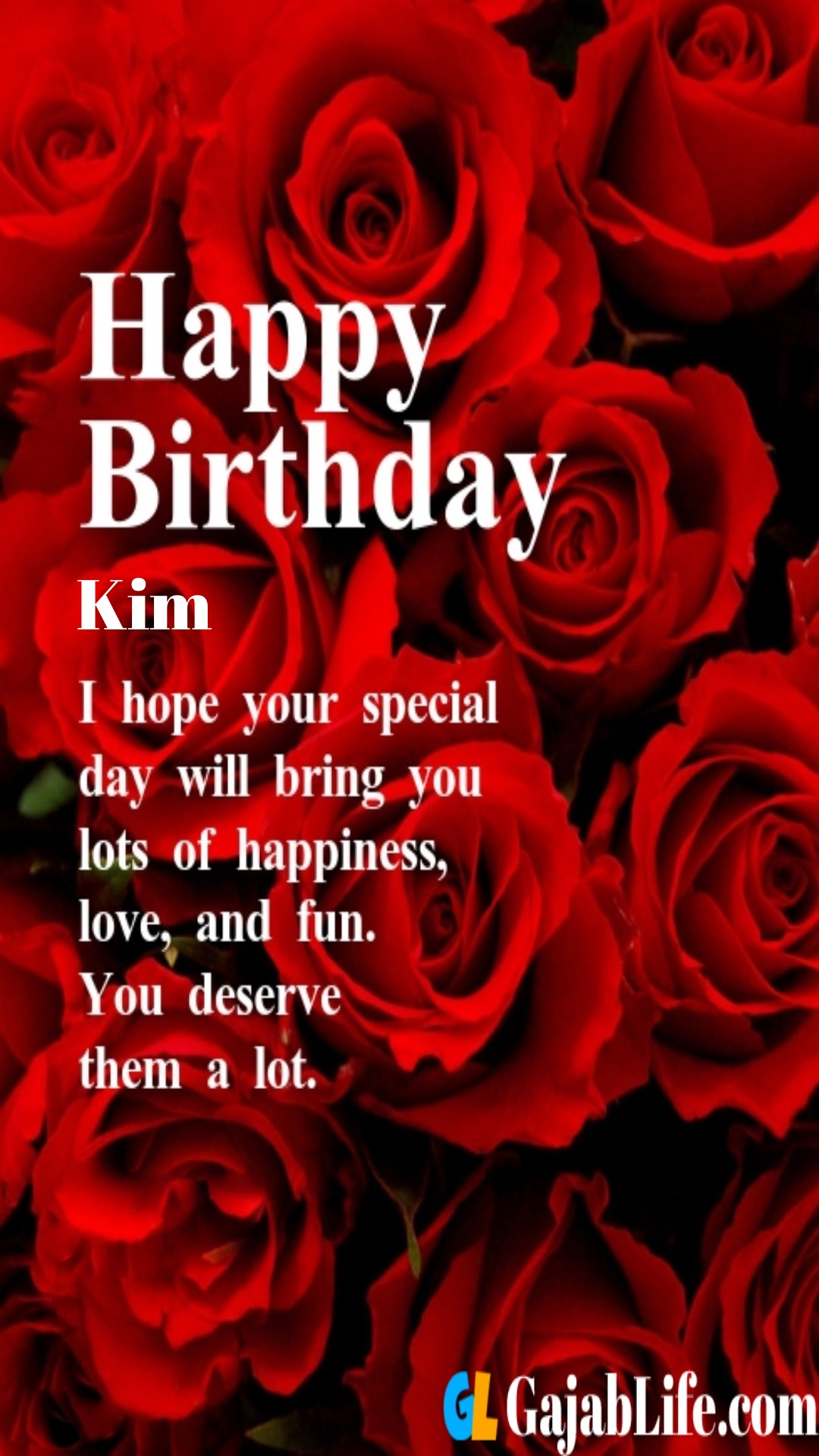 Happy Birthday Kim Images : happy, birthday, images, Romantic, Birthday, Wishes, Quotes, Images, February