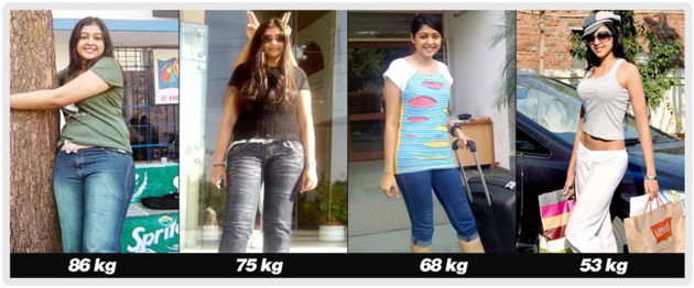 Sapna Vyas Patel Weight Reduction