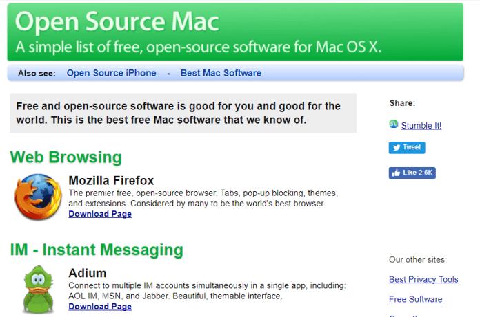 OpenSourceMac