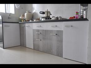 furniture for kitchen wall organizer modular pvc designer in ahmedabad kaka sintex color combination