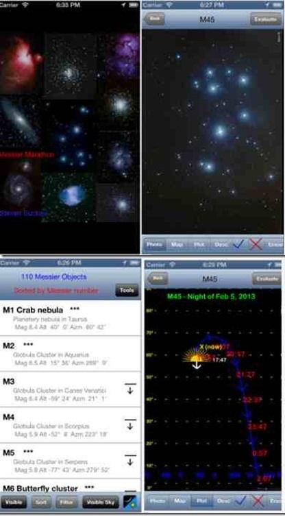 Messier Marathon, una app dedicata agli oggetti Messier