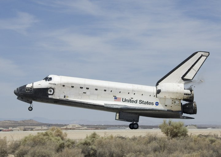 Shuttle STS-127 landing