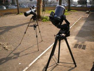 I telescopi del gak : slt114 e c8