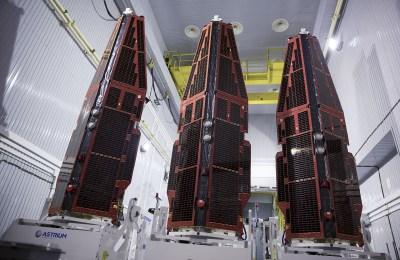 I tre satelliti SWARM per la misura del campo geomagnetico terrestre