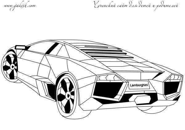 20 Lamborghini Murcielago Coloring Pages Pictures And Ideas On