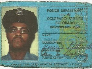 Ron Stallworth's Colorado Springs Police Department ID