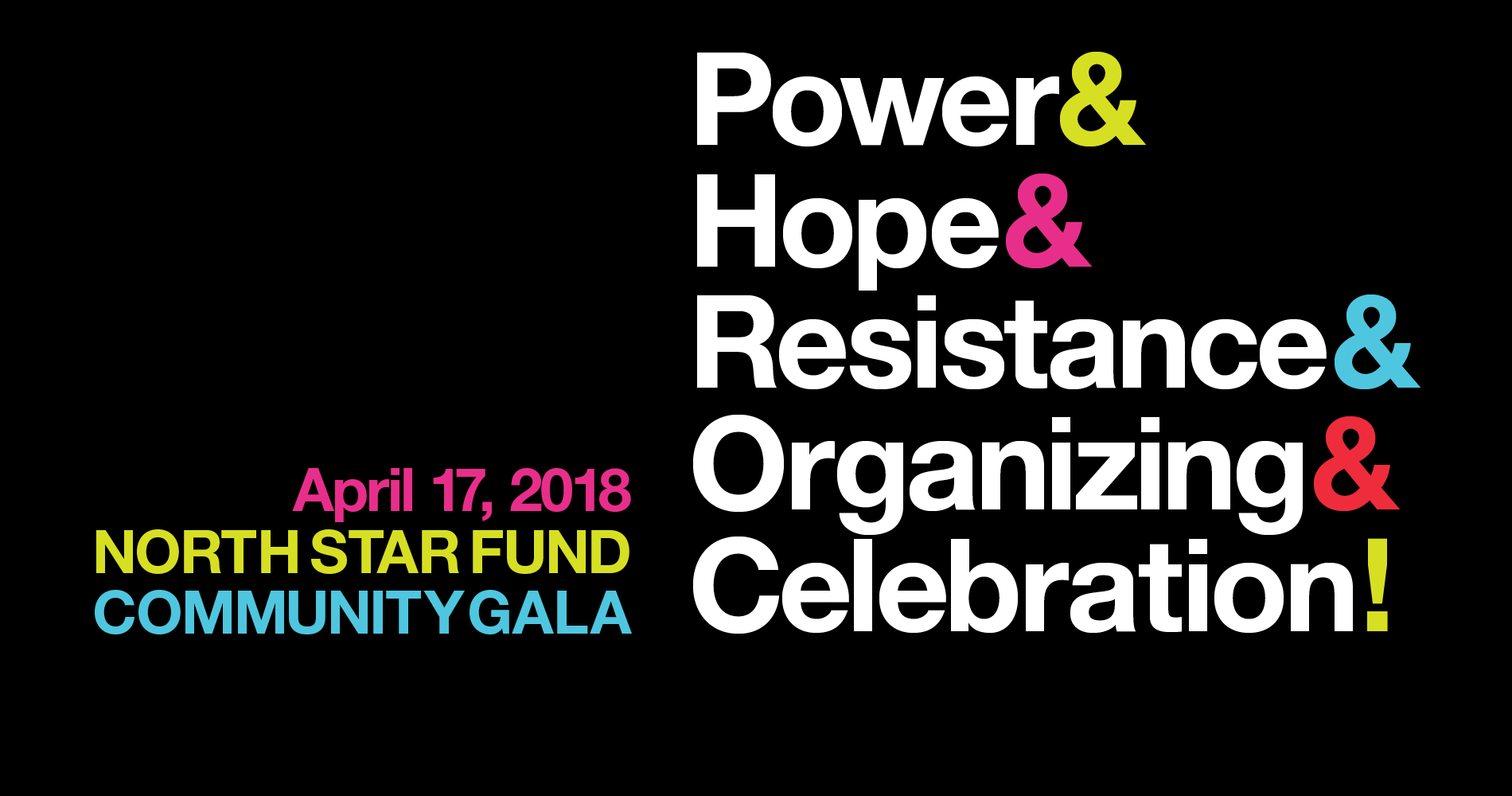 2018 North Star Fund Gala