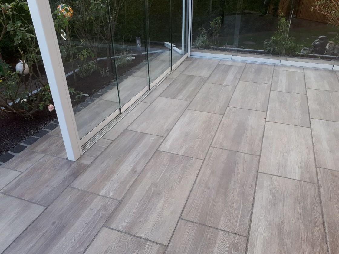 Platten In Holzoptik Terrassenplatten Wood Eiche 45x90cm Rektifiziert