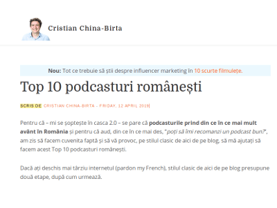 Top 10 podcasturi românești
